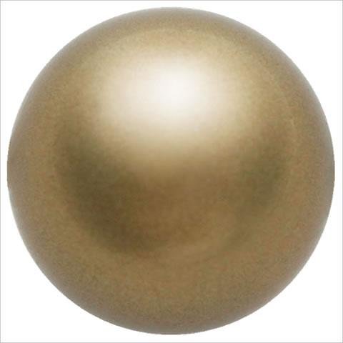 スワロフスキーパール #5810 クリスタルアンティークブラスパール
