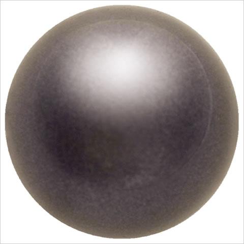 スワロフスキーパール #5810 クリスタルディープブラウンパール