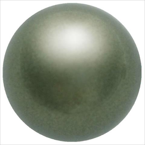 スワロフスキーパール #5810 クリスタルダークグリーンパール