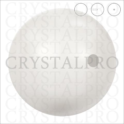 スワロフスキーパール(片穴)#5818 クリスタル・クリーム・パール