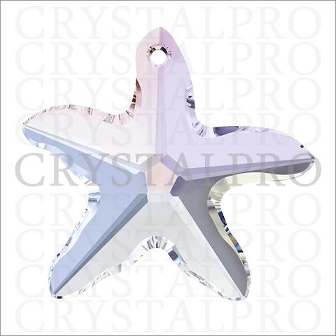 スワロフスキー #6721 Starfish クリスタルAB