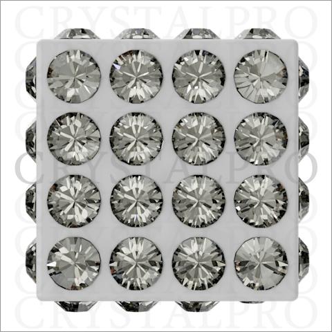 スワロフスキービーチャーム #86401 ブラックダイヤモンド