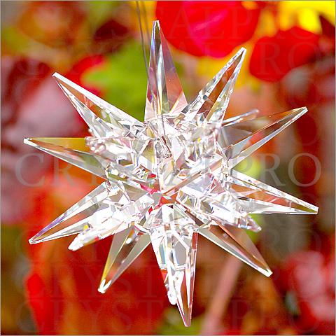 スワロフスキー #8983 Moravian Star 45x56mm クリスタル 1ヶ