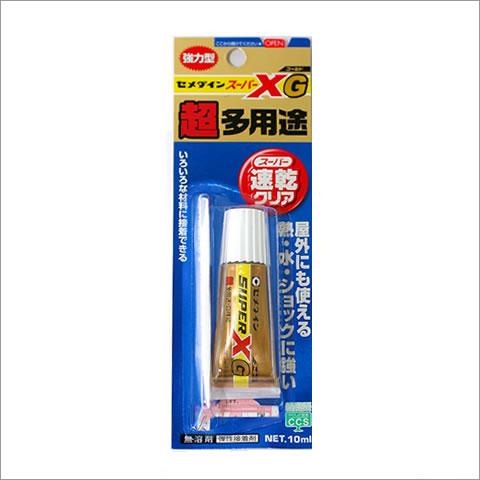 セメダイン スーパーXG(ゴールド) 超多用途 スーパー速乾クリア 10ml