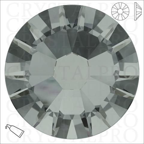 スワロフスキー #2058 ブラックダイヤモンド