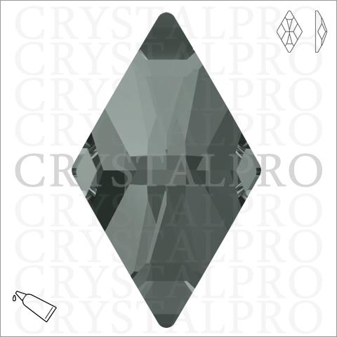 スワロフスキー #2709 ブラックダイヤモンド