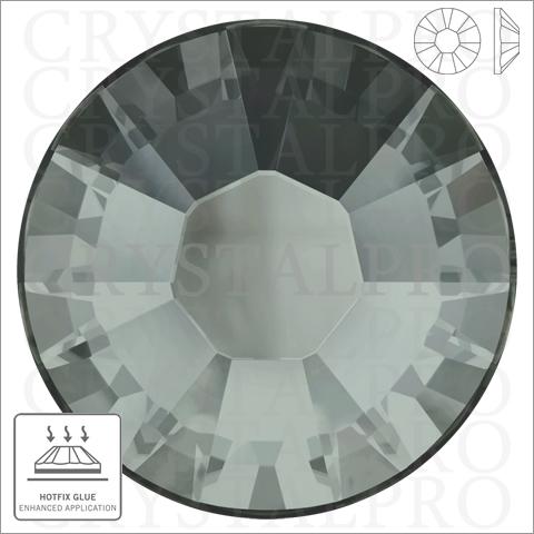 スワロフスキー ホットフィックス #2038 ブラックダイヤモンド