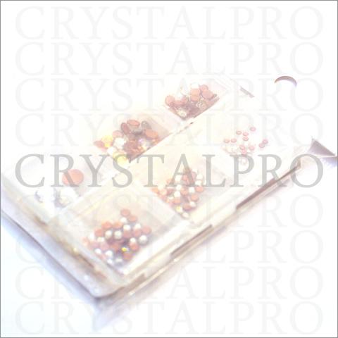 スワロフスキーホットフィックス6サイズセット クリスタル