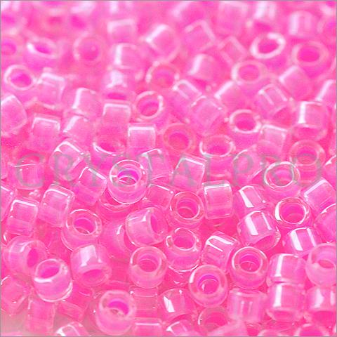ミユキ デリカビーズ ルミナスカラー ピンク