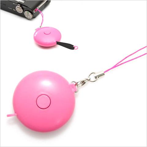 収納式ネックストラップ PICO ピンク