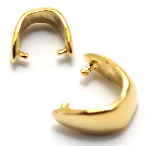 バチカン金具 しずく型(小) ゴールド