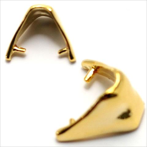 バチカン金具 ハート型 ゴールド