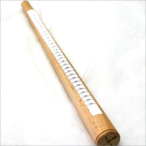 【アウトレット】木芯棒(リングサイズ計りシール付き)