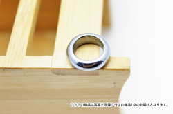 ★3点一括購入で1点分タダ!仕入れ支援商品★テラヘルツ鉱石ピンキーリング指輪10mm《rv》
