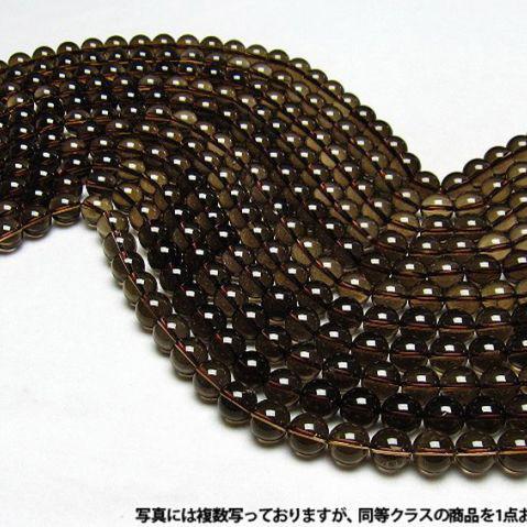 ライトニング水晶一連12mm ビーズ [H38-4]
