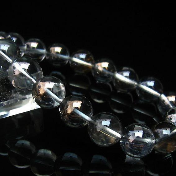 レインボーオーラ水晶 ブレスレット 12mm [T125-5369]