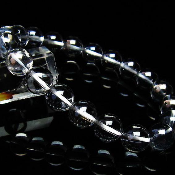 レインボーオーラ水晶 ブレスレット 10mm [T125-5566]