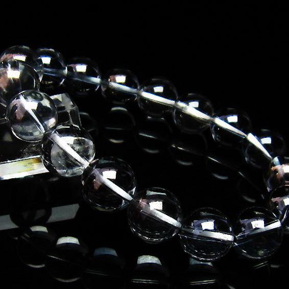 レインボーオーラ水晶 ブレスレット 12mm [T125-5632]