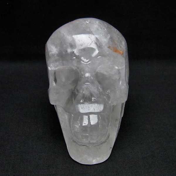 ヒマラヤ水晶 ドクロ[T130-1758]
