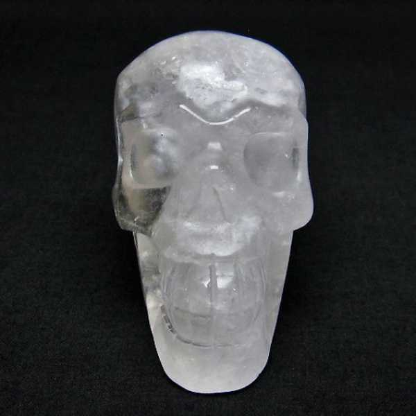 ヒマラヤ水晶 ドクロ[T130-1844]