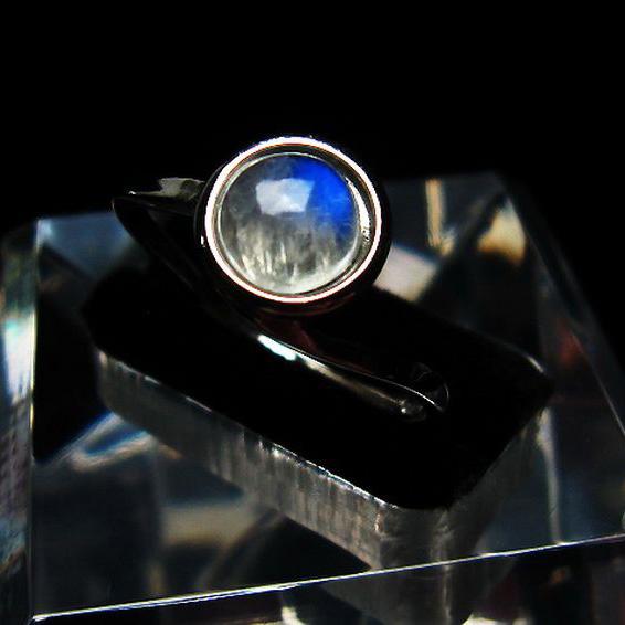 ムーンストーン 指輪 (21号)[T135-6504]
