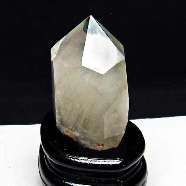 ガーデン水晶 六角柱[T222-2134]