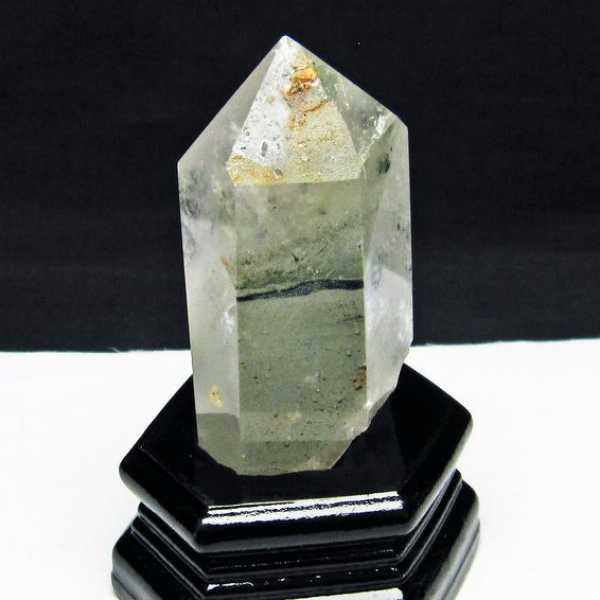 ガーデン水晶 六角柱[T222-2140]