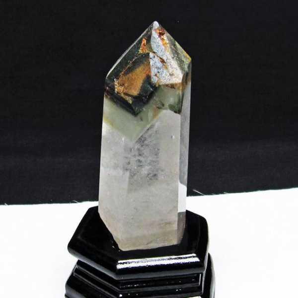 ガーデン水晶 六角柱[T222-2160]