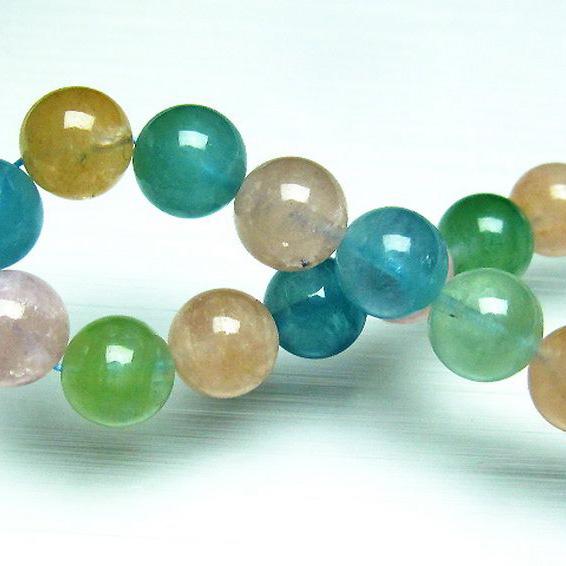 ベリル ブレスレット 緑柱石 10mm [T237-2335]