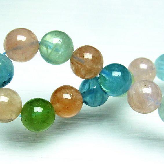 ベリル ブレスレット 緑柱石 10mm [T237-2349]