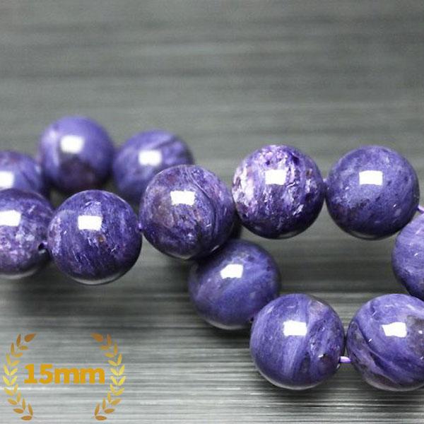 チャロアイト ブレスレット 15mm [T24-7069]