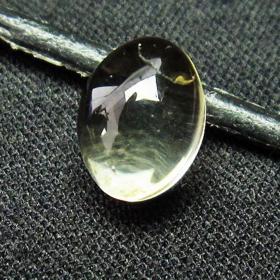 シトリン水晶 ルース[T358-1418]