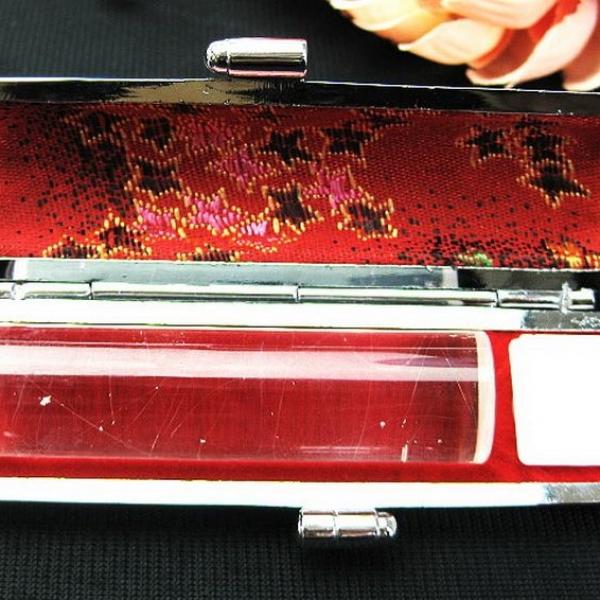 豪華プラチナルチル 印材 ※別途料金で篆刻可能 15mm [T44-464]