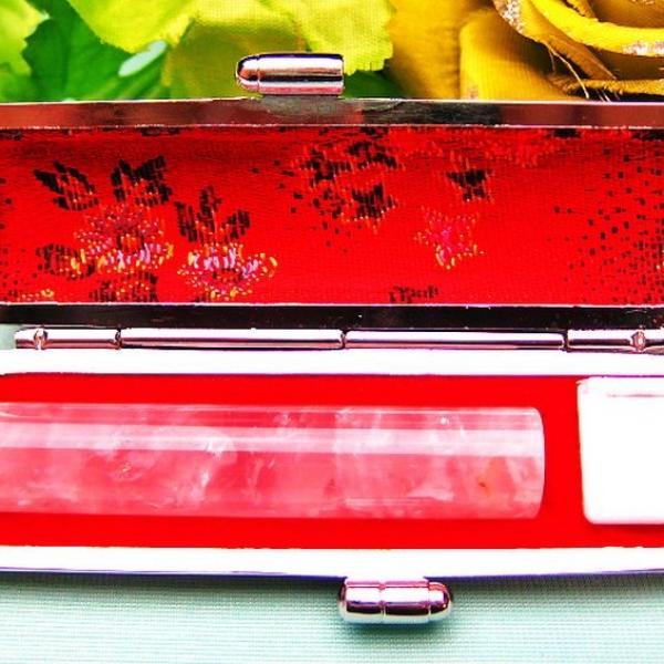 ローズクォーツ 印材 ※別途料金で篆刻可能 12mm [T46-725]