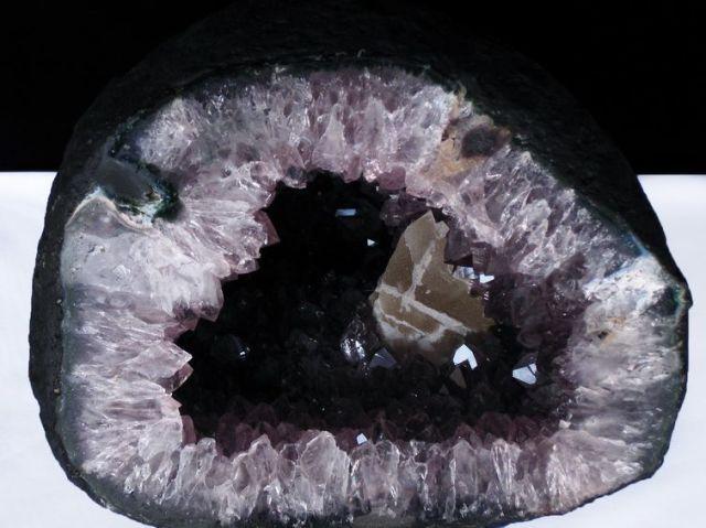 49.9Kg ウルグアイ産 サークルジオード アメジストドーム (特大品) 同梱不可[T466-748]