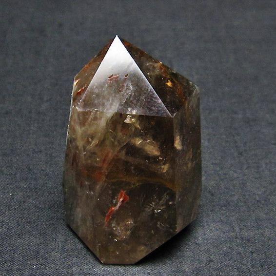 ガーデン水晶 六角柱[T577-3452]