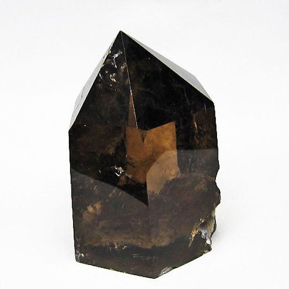 ライトニング水晶ガーデン水晶 六角柱[T577-3795]