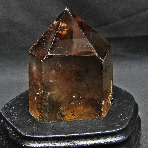 ルチルガーデン水晶 六角柱[T592-1881]