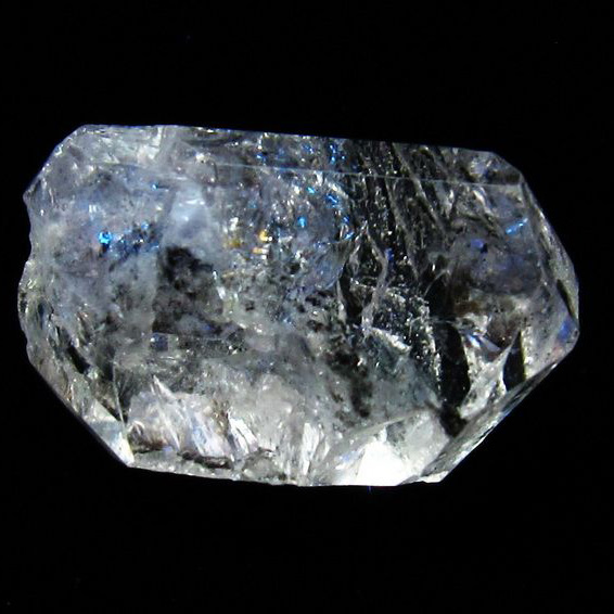 オイルクォーツ (石油入り 水晶) パキスタン産 [T596-2374]