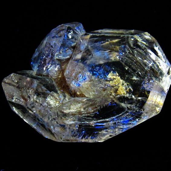 オイルインクォーツ (石油入り 水晶) パキスタン産 [T596-2393]
