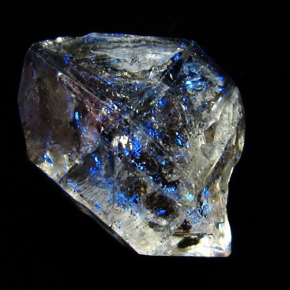 オイルクォーツ (石油入り 水晶) パキスタン産 [T596-2426]