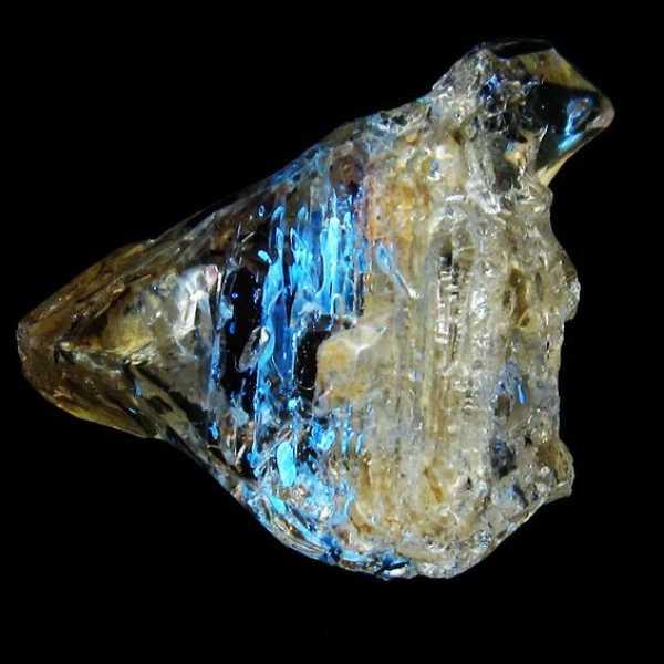 オイルイン ハーキマーダイヤモンド (石油入り ハーキマーダイヤモンド) パキスタン産 [T596-2445]
