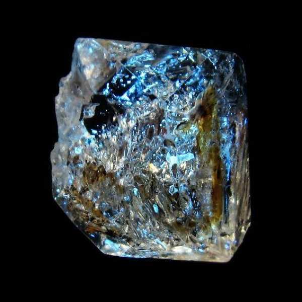 オイルイン ハーキマーダイヤモンド (石油入り ハーキマーダイヤモンド) パキスタン産 [T596-2454]