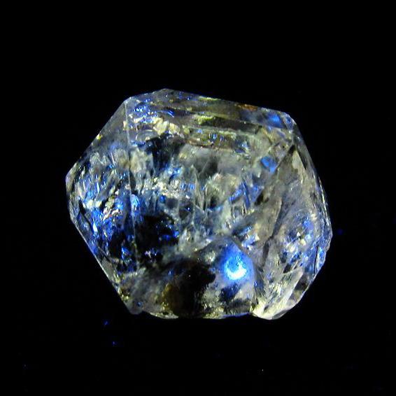 オイルクォーツ (石油入り 水晶) パキスタン産 [T596-2520]