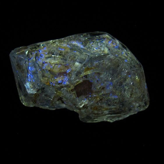 オイルイン ハーキマーダイヤモンド (石油入り ハーキマーダイヤモンド) パキスタン産 [T596-2928]