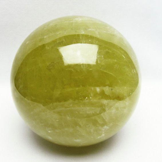 3.5Kg シトリン水晶 丸玉 137mm [T63-6182]