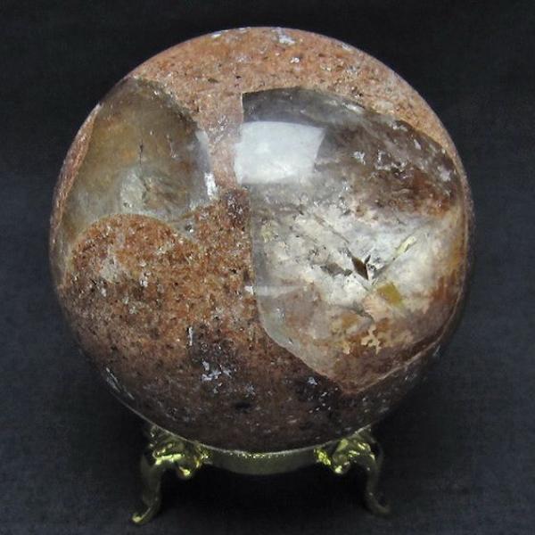 ガーデン水晶 丸玉 67mm [T637-3673]