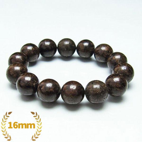 コンドライト「サハラNWA869隕石」 ブレスレット 16mm [T64-744]
