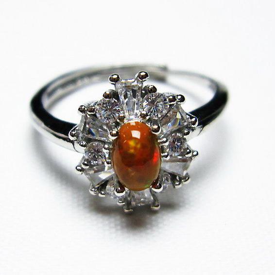 プレシャスオパール 指輪 (16号)[T674-2388]