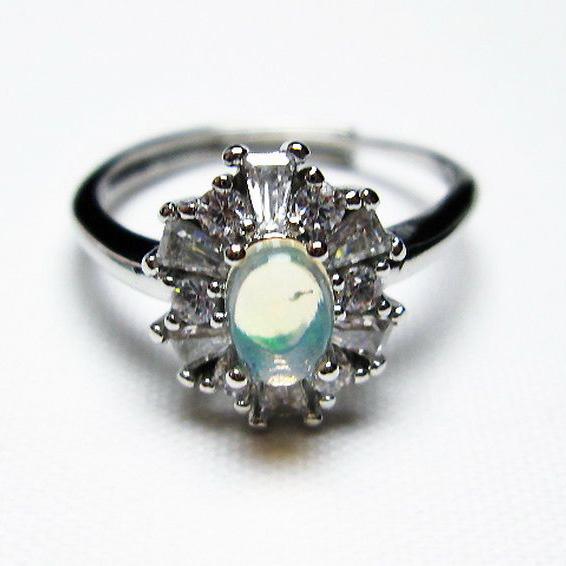 プレシャスオパール 指輪 (15号)[T674-2477]